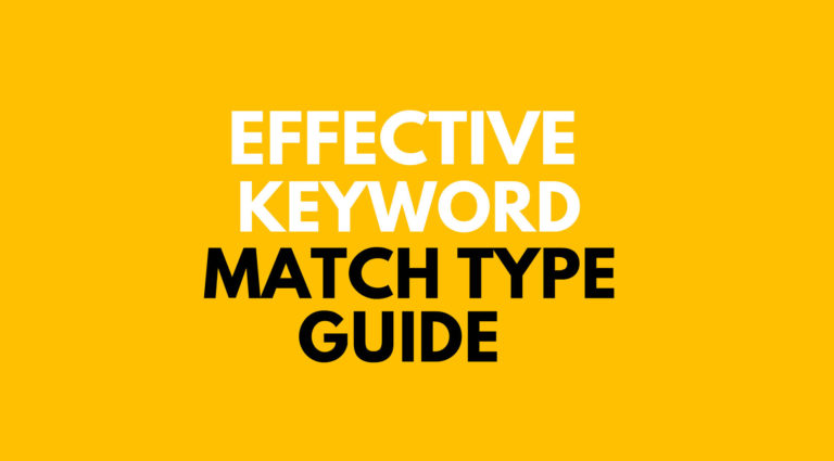 How to choose right keyword match types in Ad-words